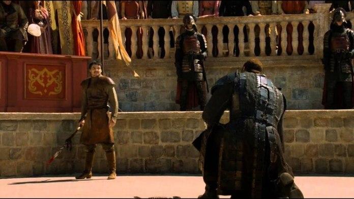 Oberyn Martell, momentos antes de su muerte (Foto: HBO)