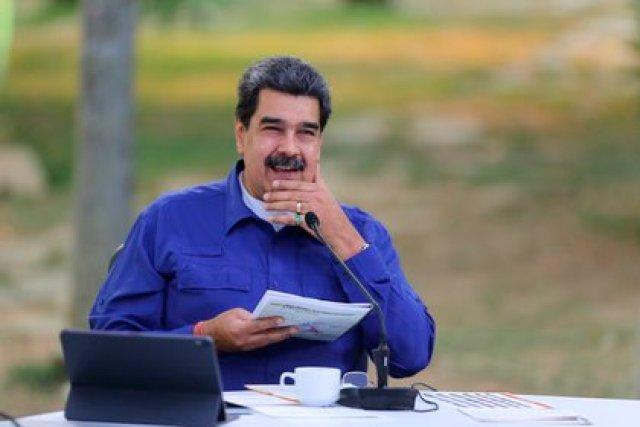 Nicolás Maduro, durante un acto de gobierno en Caracas (Venezuela). EFE/ Prensa Miraflores