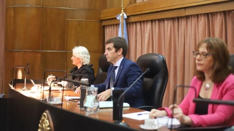 El tribunal oral a cargo del proceso (Matias Baglietto)