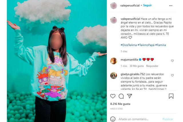 Hija de Tula Rodríguez envía mensaje a su papá