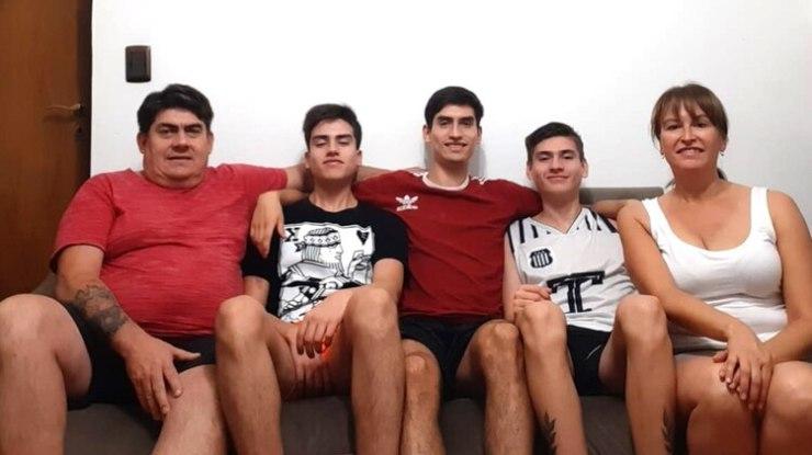 La familia de Jorge Costa
