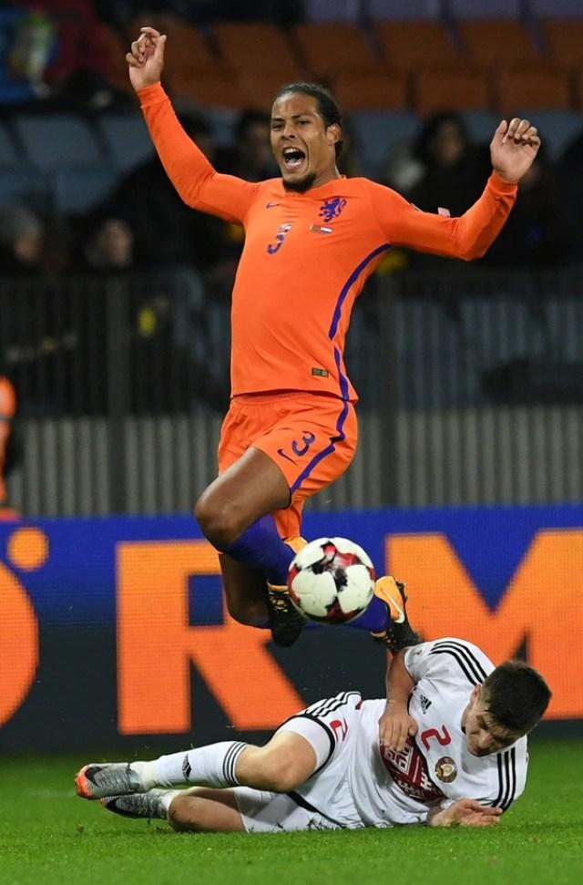 Virgil van Dijk es un actual defensor del Southampton que ha sido pretendido por los mejores equipos de la Premier League (AFP)