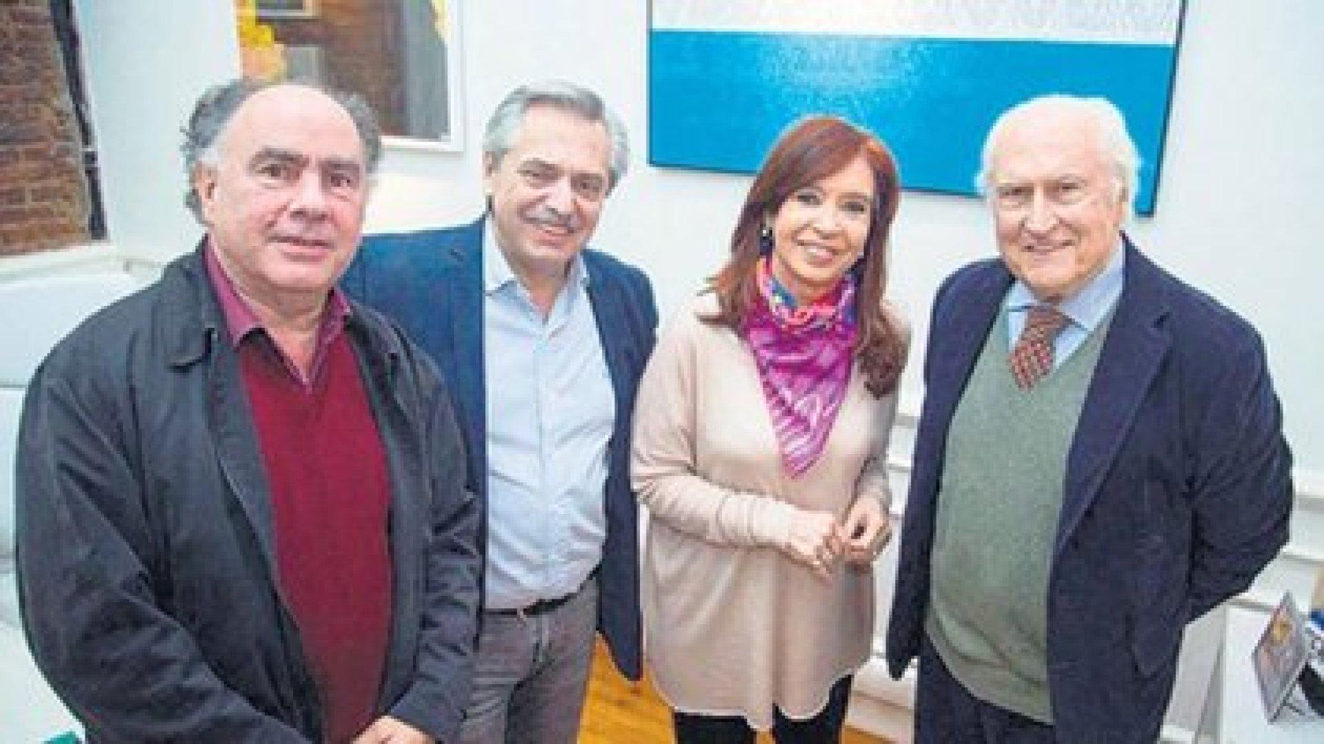 Mario Cafiero fue quien acercó a Pino Solanas y a Proyecto Sur a la fórmula Alberto Fernández - Cristina Kirchner