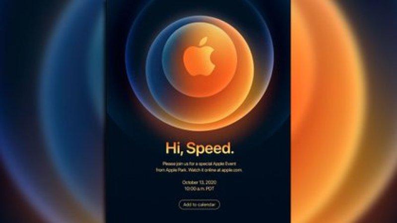 """""""Hola velocidad"""", el guiño de Apple para su evento del 13 de octubre"""
