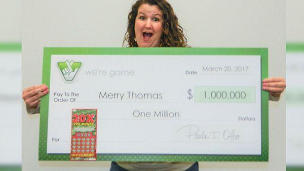 Merry decidió sacrificar la suma total y recibir solo 630.915 dólares al contado, en lugar de esperar los 30 años que impone llevarse todo el monto