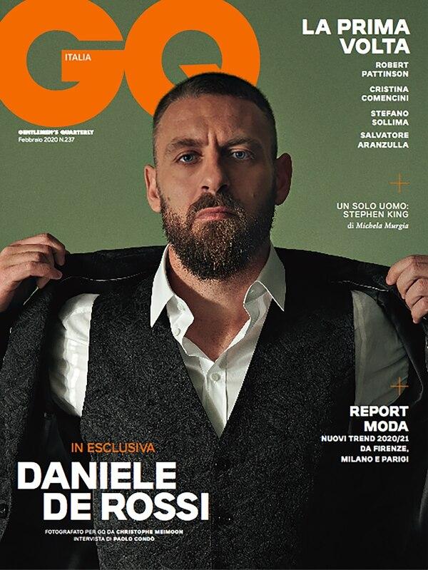 La portada de la revista GQ, con Daniele De Rossi como principal protagonista