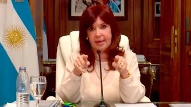 Cristina Kirchner, en su reciente alegato ante la Cámara de Casación. Duro mensaje a la Justicia
