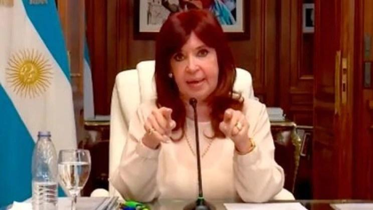 """""""Evidentemente el lawfare sigue vigente"""", se quejó CFK"""