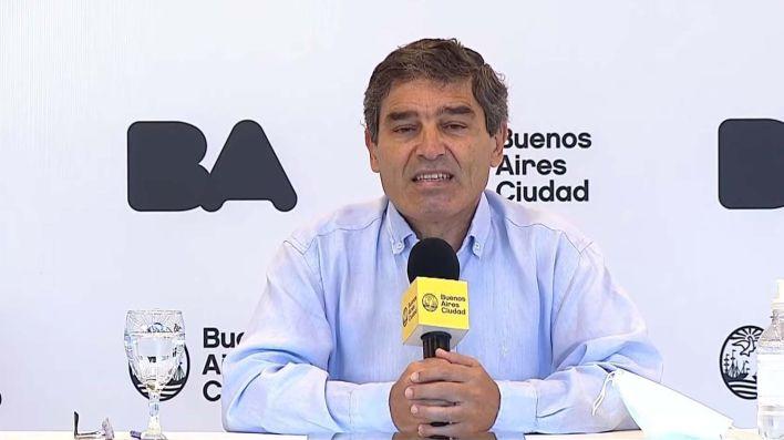 Fernán Quirós Conocé la situación sanitaria en la Ciudad en el marco del aislamiento por el coronavirus