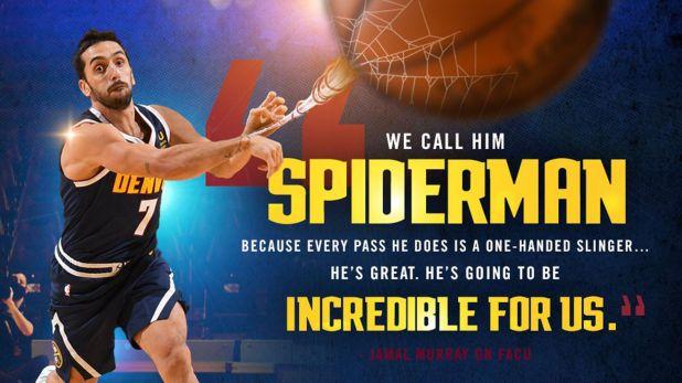Por qué le dicen Spiderman a Campazzo en la NBA