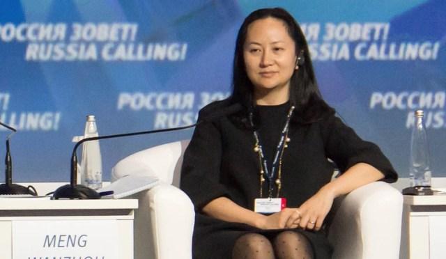 Meng está acusada de engañar a la banca internacional ocultando los vínculos de Huawei con las empresas Skycom y Canicula, con operaciones en Irán y Siria(REUTERS/Alexander Bibik)