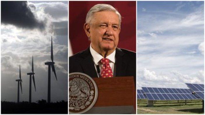 El gobierno de AMLO y las empresas de energías limpias han tenido problemas por la política energética del primero (Foto: Especial)
