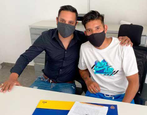 juveniles que firmaron contrato en Boca desde que llegó Riquelme