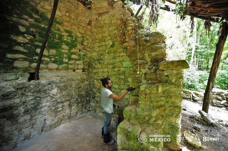 El INAH descubrió un palacio prehispánico en Kulubá, Yucatán (Foto: www.inah.gob.mx)