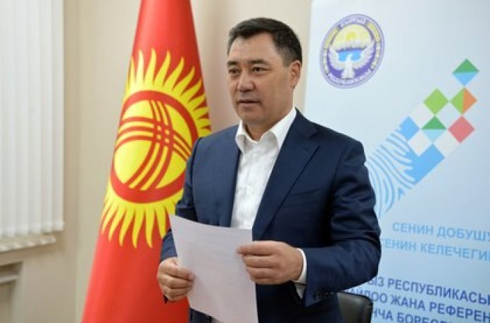 Sadir Japarov, President of Kyrgyzstan (Europa Press)