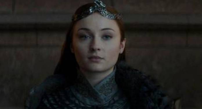 Sansa Stark achieved the independence of Invernalia after suffering torture and abuse. His career gave a lesson of life to her actress, Sophie Turner (Photo: HBO)