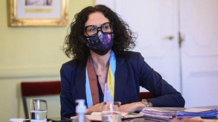 La vicejefa de Gabinete Cecilia Todesca Bocco dijo que el Gobierno y el FMI discute cuánto puede pagar por año el país.