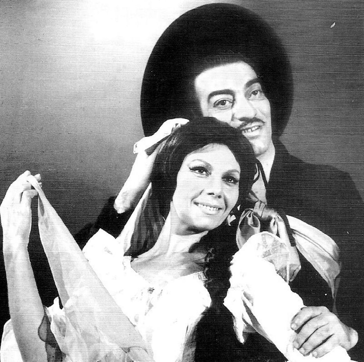 El Chúcaro y Norma Viola, una pareja que revolucionó el folklore (@elchucarosantiagoayala)
