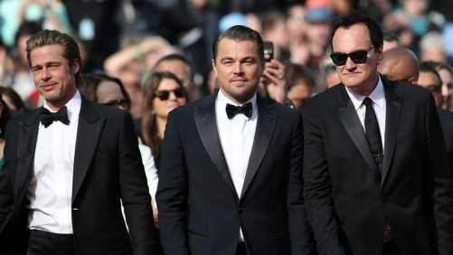 """Brad Pitt regresa al cine con Leonardo DiCaprio y Tarantino en """"Once Upon a Time in Hollywood"""""""