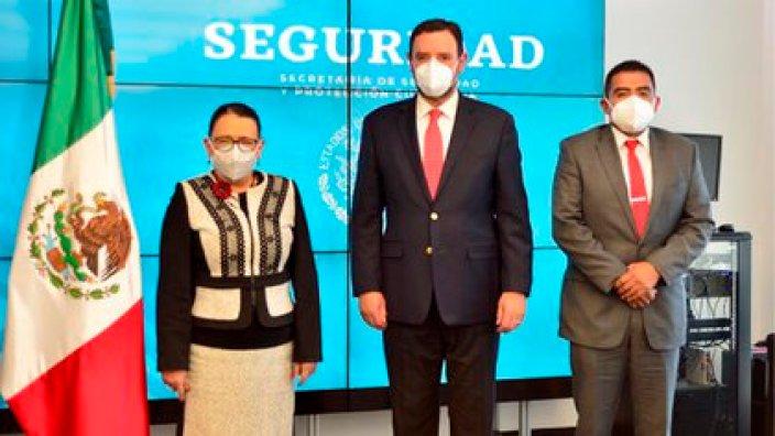 Rosa Icela Rodríguez se reunió con el gobernador de Zacatecas hace un par de semanas (Foto: Twitter@rosaicela_)