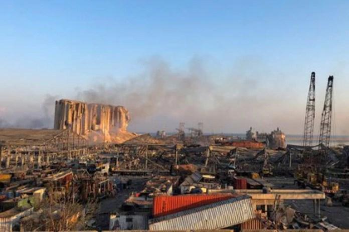 """Las autoridades declararon a Beirut """"zona de catástrofe"""" (REUTERS/Issam Abdallah)"""