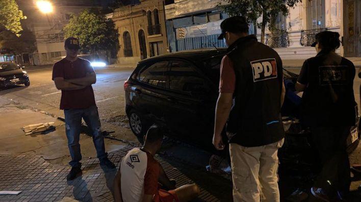 """La detención de """"Cachete"""" Díaz, principal acusado por el crimen de City Center en Rosario, uno de los crímenes más resonantes de este año para la provincia."""