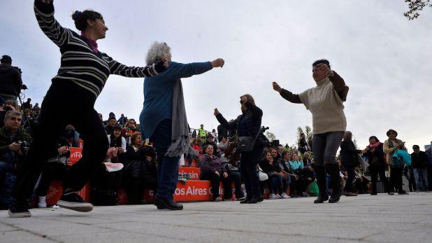 El baile y la danza no faltaron en Buenos Aires Celebra las Regiones