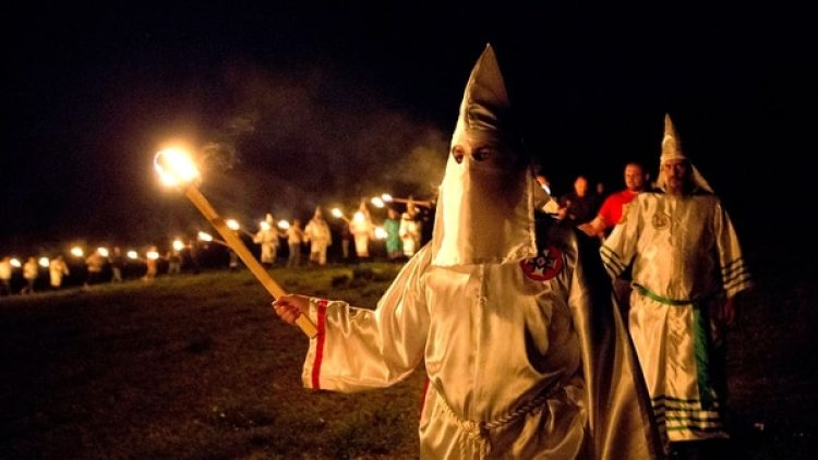 El KKK en Georgia, 2016 (AP)