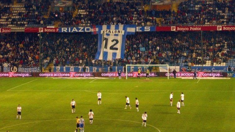Scaloni es ídolo en el Deportivo La Coruña
