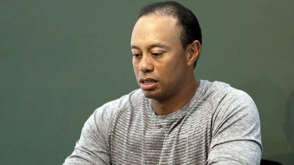 Tiger Woods estaba dormido cuando la Policía de Florida lo arrestó en la madrugada del lunes(AP)