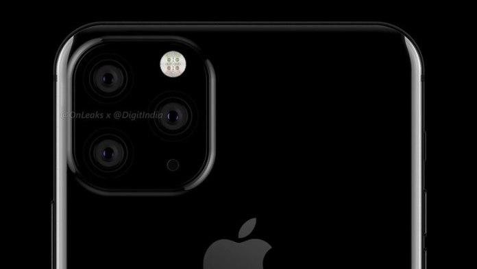 Así sería el nuevo modelo de iPhone con tres cámaras traseras (Twitter: OnLeaks)