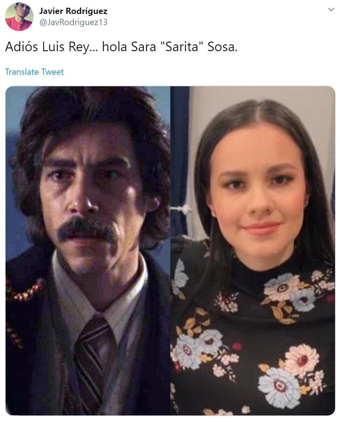 Los fans de José José dijeron que Sarita Sosa era la nueva Luis Rey (Foto: Twitter)