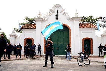 El año pasado, el reclamo llegó hasta la Quinta de Olivos (foto de archivo: Franco Fafasuli)