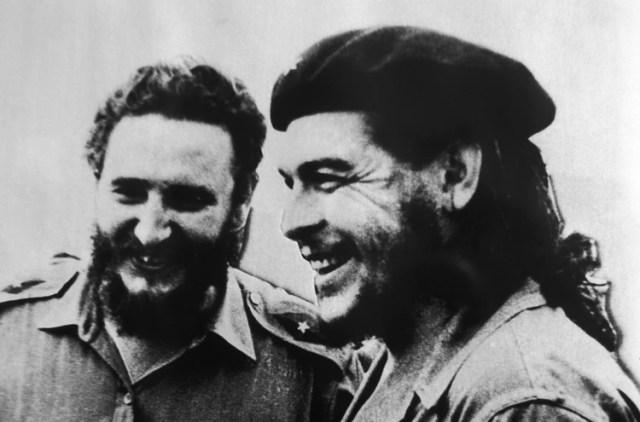 """Fidel Castro junto al """"Che"""" Guevara"""