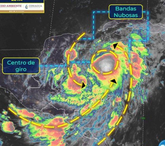 Se activó la alerta amarilla para ocho municipios de Quintana Roo (Foto: Servicio Meteorológico Nacional)