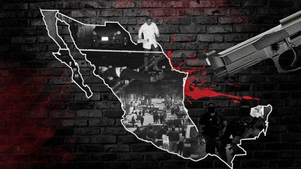 México sirvió como camino inicial de trasiego de droga para el cártel colombiano (Créditos: Infobae)