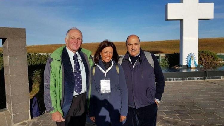 Roberto Curilovic en Malvinas