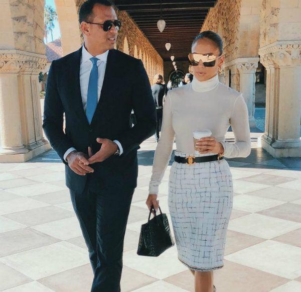 Jennifer Lopez y Alex Rodriguez hicieron oficial su romance en marzo de 2017