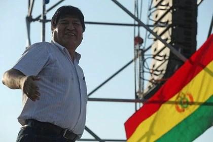 Foto de archivo. El ex presidente de Bolivia, Evo Morales, durante una marcha en la ciudad Argentina de Mendoza. 7 de marzo de 2020. REUTERS/Marcelo Ruiz