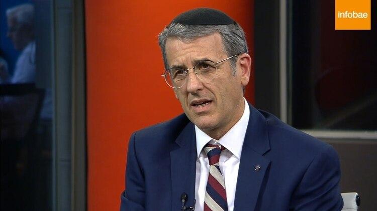 Agustín Zbar, presidente de la AMIA