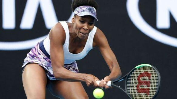 La estadounidense Venus Williams avanza a paso firme en el Abierto de Australia (Getty Images)