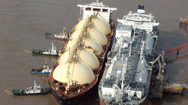 Para este año ya hay comprometidos 22 buques con importación de gas