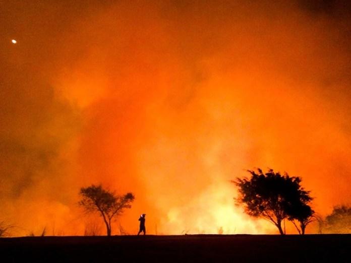 """Moises Silva (Brasil) obtuvo el segundo puesto con """"The Heat"""" (El calor). La foto la tomó en Betim, Brasil, con un iPhone 5S."""
