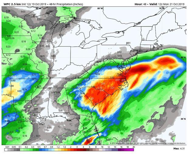 La tormenta Néstor toca suelo en Florida en las primeras horas de la tarde de este sábado