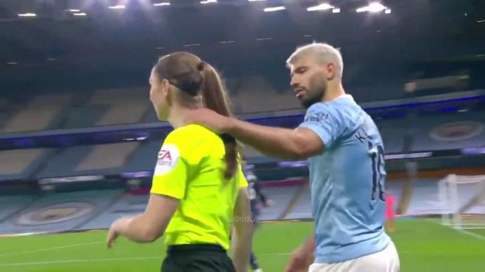El accionar de Agüero en Arsenal-Manchester City