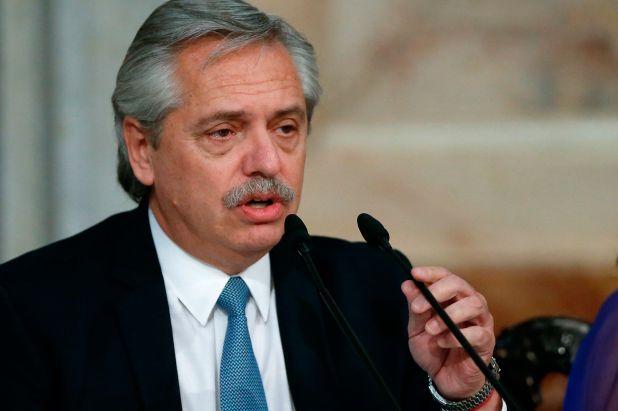 El presidente Alberto Fernández (EFE/ Juan Ignacio Roncoroni/Archivo)