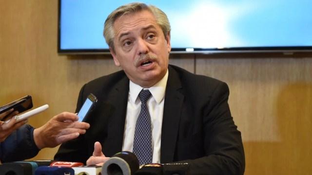 Alberto Fernández, candidato a Presidente por el Frente de Todos