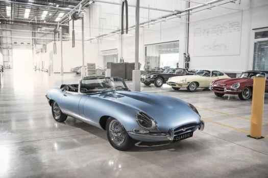 "El prototipo se presentó en el evento ""Jaguar Land Rover Classic"""