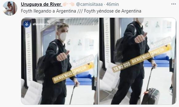 El error de Foyth en el empate de Colombia ante Argentina sobre la hora
