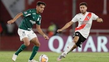 Gonzalo Montiel would leave River after his participation in the Copa Libertadores (REUTERS / Juan Ignacio Roncoroni)